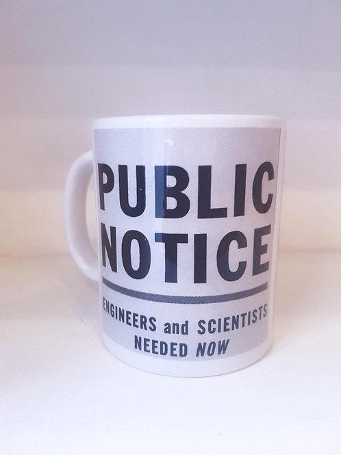 Mug - Public Notice