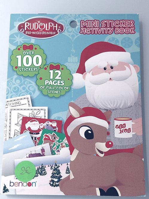 Cahiers d'activité stickers - Noël