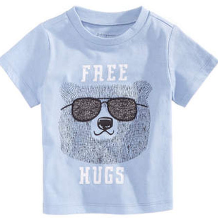 t-shirt first impressions (free hugs)