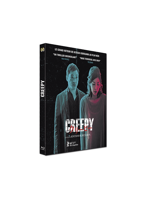 Creepy, un thriller noir de K. Kurosawa- BLURAY