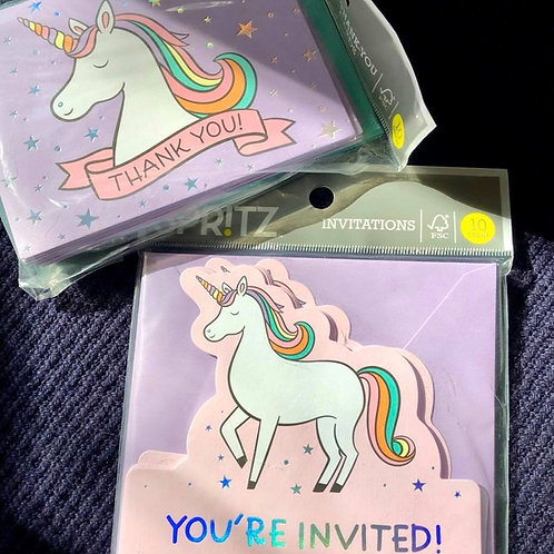 LICORNE invitations