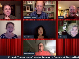 #195 CURTAINS Original Broadway Cast Reunion with Guest Host Jason Danieley joined by Rupert Holmes, Scott Ellis, Edward Hibbert, David Loud, Jill Paice, David Hyde Pierce, Debra Monk, Karen Ziemba