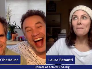 #14 Laura and Linda Benanti, Sierra Boggess and Ramin Karimloo