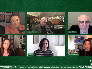 #313 Suddenly.... SEYMOURS with Lee Wilkof, Hunter Foster, Gideon Glick and Jeremy Jordan joined by Alan Menken.  Donations tonight will be MATCHED up to $2,500 by Sharon Kirschner!