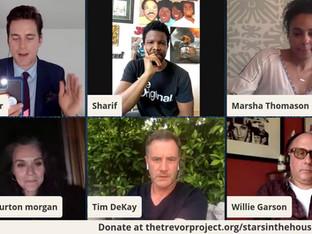 #89 White Collar Cast reunion with Sharif Atkins, Matt Bomer, Hilarie Burton, Tim DeKay, Willie Garson, Tiffani Thiessen and Marsha Thomason.  Joined by Amit Paley, CEO of The Trevor Project.