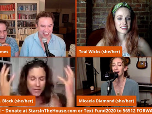 """#178 The 3 """"Chers"""" from The Cher Show: Stephanie J. Block, Micaela Diamond, and Teal Wicks"""