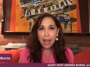 #160 Guest Host Andréa Burns welcomes R.Evolución Latina founder, Luis Salgado.  