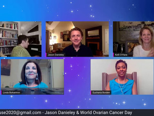 #91 Jason Danieley and his friends at the Cancer Support Community join us as we remember Marin Mazzie on World Ovarian Cancer Day.  Joined by Kelli O'Hara, this evening benefits the Cancer Support Community.  