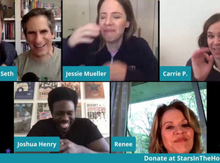 #73 Carousel Broadway Cast reunion with Lindsay Mendez, Renée Fleming, Joshua Henry and Jessie Mueller.  Joined by director Jack O'Brien.