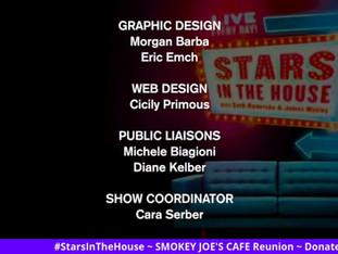 #194 SMOKEY JOE'S CAFE Reunion Guest Host Brenda Braxton with Ken Ard, Adrian Bailey, Matt Bogart, Victor Cook, Ken Hanson, DeLee Lively, Deb Lyons and Fred Owens.