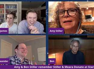#152 Ben Stiller and Amy Stiller honor Anne Meara and Jerry Stiller with surprise guests Jason Alexander and Ron Guillory
