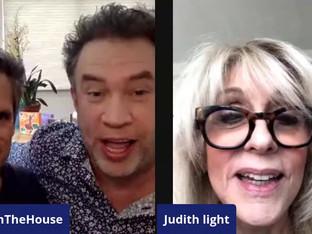 #16 Jeremy Jordan and Judith Light