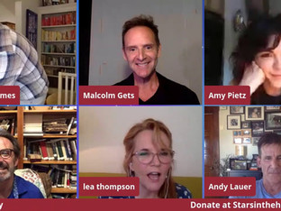#98 Caroline in the City Cast reunion with Malcolm Gets, Cathy Ladman, Tom La Grua, Andy Lauer, Eric Lutes, John Mariano, Amy Pietz and Lea Thompson