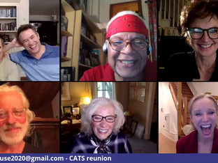 #136 CATS Original Broadway Cast reunion with Betty Buckley, Donna King, Terrance Mann and Ken Page