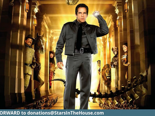 """#200 IT'S OUR 200TH EPISODE!!!  We are celebrating with a """"NIGHT AT THE MUSEUM!""""  Ben Stiller, Owen Wilson, Carla Gugino, Hank Azaria, Steve Coogan, Bill Cobbs, Patrick Gallagher, Mizuo Peck and Shawn Levy will help James and Seth celebrate this amazing milestone!"""