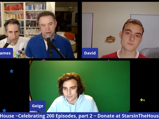 """#202 Best of Stars In The House - Part 2!!  Seth and James continue the celebration sharing more """"best of"""" clips and special guest stars from the last SIX MONTHS!"""