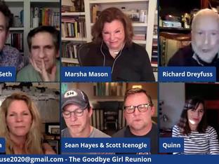 #78 The Goodbye Girl reunion with Quinn Cummings, Richard Dreyfuss and Marsha Mason.  Joined by Sean Hayes, Scott Icenogle and Kelli O'Hara.