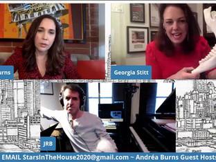 #95 Guest Host Andréa Burns with Jason Robert Brown and Georgia Stitt