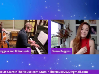 #77 Guest Host Sierra Boggess welcomes Summer Boggess, Brian Hertz, Liz Robertson and Manon Taris.  Also, Gold Globe Winner Rachel Brosnahan joins Blake Ross for another Feel Good Friday segment.