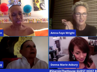 #176 Act 2... Now What?  It's Brenda's Birthday Bash!  Guest Host Brenda Braxton is joined by Donna Marie Asbury and Amra-Faye Wright and surprise special guests.  