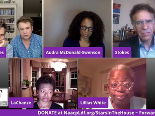 #139 Black Theatre United Founders LaChanze, Audra McDonald, Brian Stokes Mitchell and Lillias White
