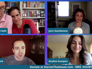 #62 Mrs. Doubtfire Broadway Cast with Jenn Gambatese, Rob McClure and Analise Scarpaci