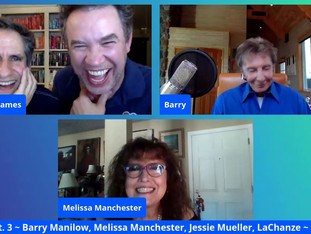 #177 SAVE THE ARTS Part 3 with LaChanze, Melissa Manchester, Barry Manilow and Jessie Mueller   