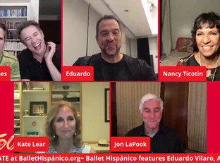 #143 Ballet Hispánico with Artistic Director and CEO Eduardo Vilaro and guests  ​