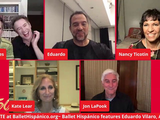 #142 Ballet Hispánico with Artistic Director and CEO Eduardo Vilaro and guests  ​