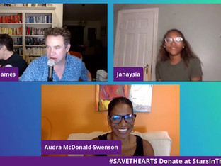 #171 SAVE THE ARTS!  Misty Copeland, Justina Machado, Audra McDonald, Rosie Perez, Ben Stiller and more surprise guests!