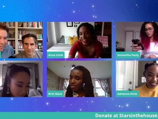 #69 The Queens from Six: Adrianna Hicks, Andrea Macasaet, Abby Mueller, Brittney Mack, Samantha Pauly and Anna Uzele joined by writers and creators Toby Marlow and Lucy Moss