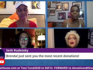 #166 Guest Host Brenda Braxton joined by Valarie Pettiford and Allison Williams Foster