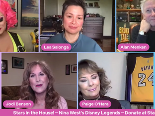 #285 It's Guest Host Week!  Join host Nina West for... Nina West's Disney Legends Party with guests Alan Menken, Lea Salonga, Jodi Benson and Paige O'Hara!    