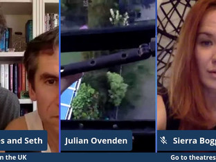 #67 Preston Nyman, Julian Ovenden, Rachel Tucker and Sierra Boggess