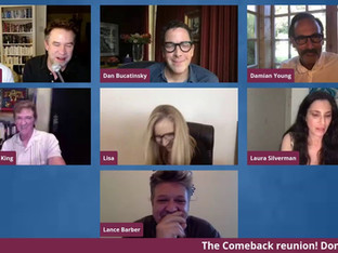 #161 The Comeback with Lisa Kudrow, Michael Patrick King, Dan Bucatinsky, Laura Silverman, Lance Barber and Damian Young