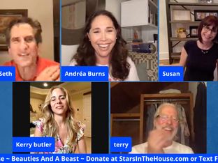 #188 Beauties and a Beast with Andréa Burns, Kerry Butler, Susan Egan and Terrence Mann
