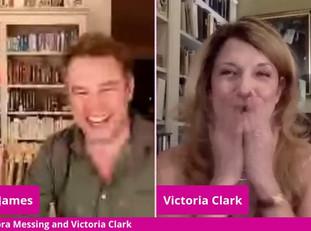 #118 Debra Messing and Victoria Clark