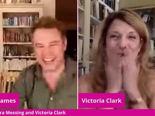 #117 Debra Messing and Victoria Clark