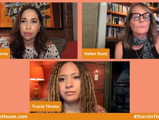 #172 Andréa Mondays!  Guest Host Andréa Burns with guests Helen Hunt and Tracie Thoms.  
