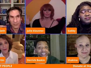 #63 Hulu's Difficult People with Derrick Baskin, Billy Eichner, Cole Escola, Julie Klausner, Andrea Martin, Shakina Nayfack, Gabourey Sidibe and James Urbaniak