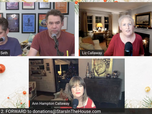 #251 Christmas with the Callaway Sisters with Liz Callaway and Ann Hampton Callaway