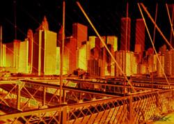 brooklin bridge & Twins Towers 2