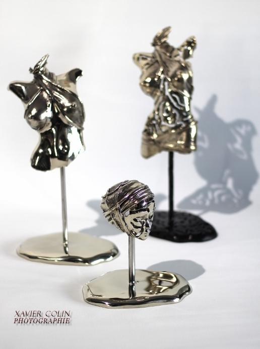 Bronze blanc - pièces uniques