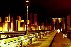 brooklin bridge & Twins Tower 1
