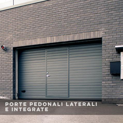 Porte Pedonali Laterali e Integrale