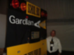 prototype for Gardian Angel school bus ligting system for trade shows