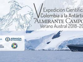 Reserva Naval, presente en la V Expedición Científica Antártida