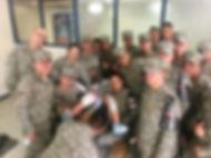 Infantes de Marina reciben Curso de primeros auxilios en el Hospital Militar de Bogotá