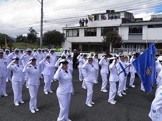Reserva Naval de Bogotá se destaca en Desfile del 20 de Julio