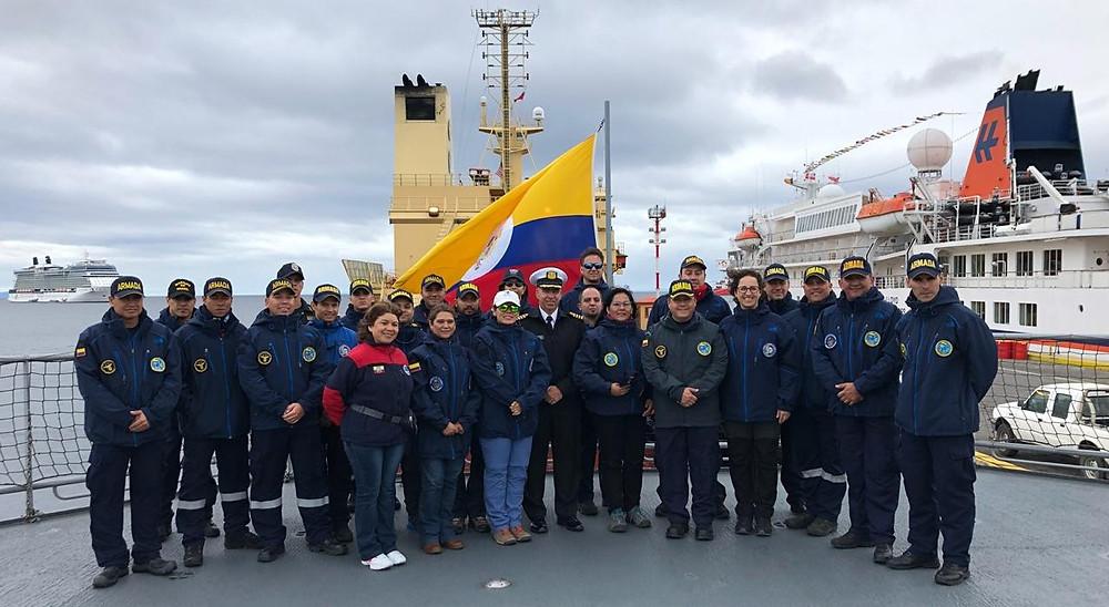 Expedicion Antartida 2018-2019 Colombia